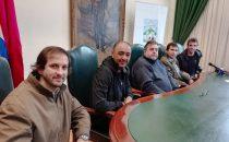 Iván Alonso y Álvaro Recoba participaron en instancias de promoción de valores en Tacuarembó