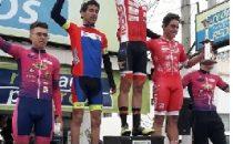 Podio Junior en el Gran premio RedPagos Progreso fue para Lucas García de Tacuarembó.