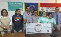 La Fundación Pérez Scremini recibe una donación de $45.800
