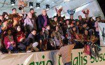 Los ganadores de las menciones especiales en Murgas y Comparsas del Carnaval 2020.