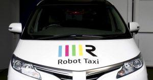 Japon taxi sin conductores