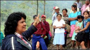 berta caceres Lider indigena