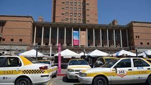 taxis en terminal