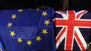 UE Y Reunio Unido  banderas