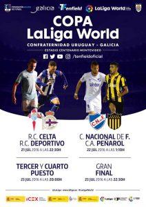 laliga World uruguay  21 -23julio 2016