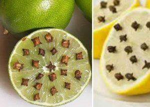 limon y clavo de olor
