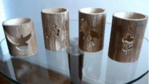 bambu adornos bambu